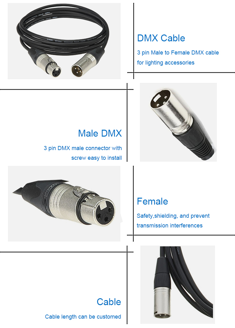 XLR extension cable