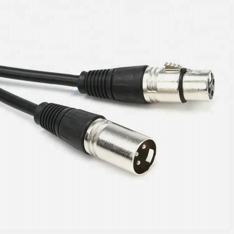 DMX cable 3 pin signal XLR connection extension cable