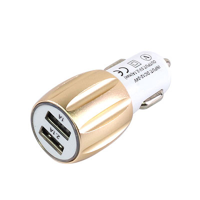 car charger with dual USB port