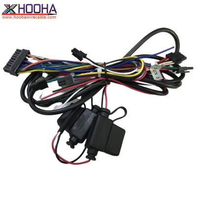 custom wire harness,Molex Connector Wiring,Communication/Telecom cable,Fuse Holder/Fuse Box