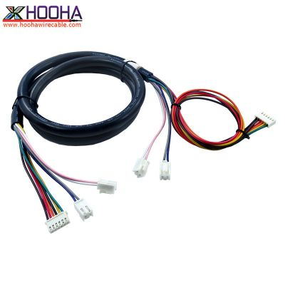 custom wire harness,JST Connector Wiring,Communication/Telecom cable,PH2.54mm wire harness